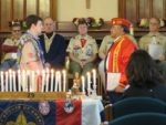 Gus Cales presented Eagle Scout Certificate to Hugh Collins at his December 10, 2016Court of Honor.
